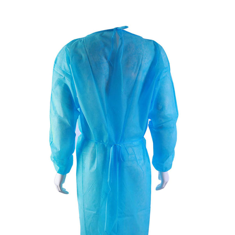Waterproof Long Sleeve Breathable Disposable Medical Gowns